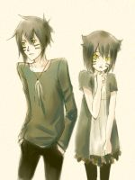 Black cats by sdPink