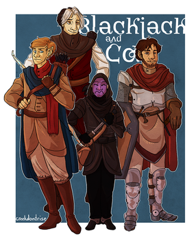 DnD Commission! by lucidflux