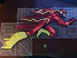 Perler Beads: The Flash by xtuyet