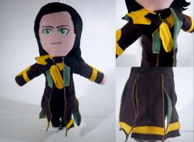 Loki Plushie - Commission by EddieDoezSewing