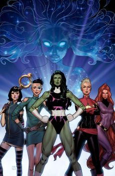 A-Force #1 Cover by ZurdoM