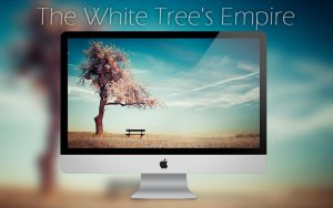 The White Tree's Empire Wallpaper by sorny