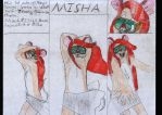 The Birth Of Misha: Honorable Mention Poses by Misha-the-Mouse