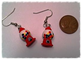 Gumball Machine Earrings ~$3 by Jenna7777777