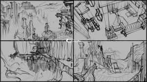Environmental Sketches by Cycrone