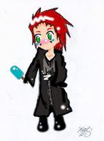 Chibi Axel- color by SasukeUchihable