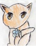Kyo fruits basket cat form by Fran48