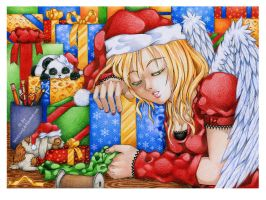 well-deserved sleep by LaNaYoung