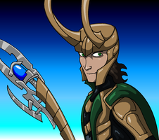 Loki the God of Mischief by AraghenXD