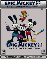 Epic Mickey 2 Icon v2 by Ni8crawler