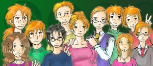 The Weasleys by heart-of-glass