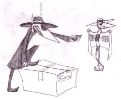 Spy vs Spy XD by Spaffi