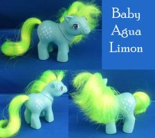 Real Custom Baby Agua Limon by RevRuby