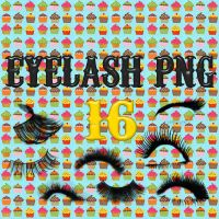 Eyelash PACK PNG 16. by heymyidols