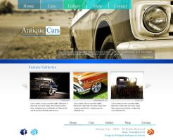 Antique Cars Layout by wellington-oliveira