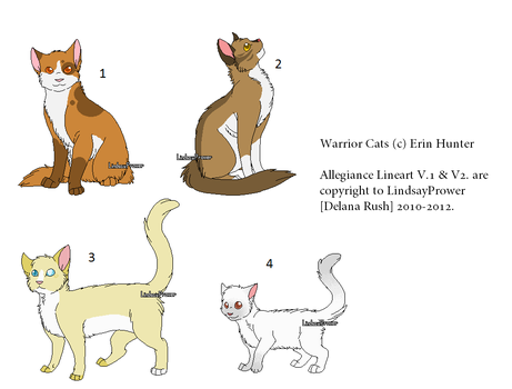 WarriorCats:: Offer to Adopt by PoisonFate