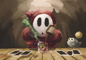 Cocktail of Shy Guy by ybkt