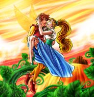 CC: Cornelius and Thumbelina by MistyTang