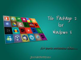 Tile Package 2 for Windows 8 by jawzf by jawzf