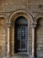 Old Oak Door by fuguestock