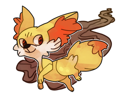 fennekin by fishcycle