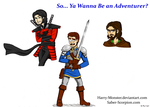 So Ya Wanna Be an Adventurer? by Harry-Monster