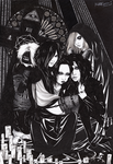The Gazette - DOGMA: Ruki`s demons by KaZe-pOn