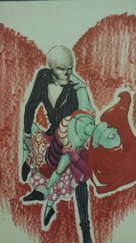 Jack and Sally by VictoriaMelissa