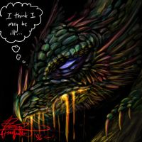 Oh woe is the dragon... by Daimera