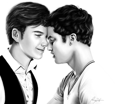 Glee: Stay quiet, Stay near by artsnletters