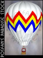 Hot Air Balloon 003 by poserfan-stock