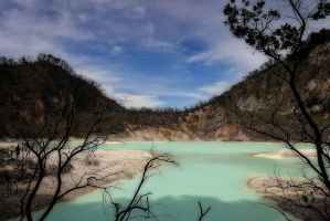 Ciwidey, white crater, Bandung by dansmant