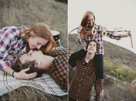 Nic and Molly Engagement 01 by stuckwithpins