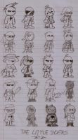 Original Characters- The Little Siders Set2 by DarkOliver