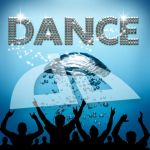 Dance poster underwater diving bubbles by bertold