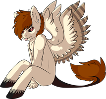Pegasus Boy by BlueGriffyon
