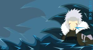 Second Hokage Background by PluivantLaChance