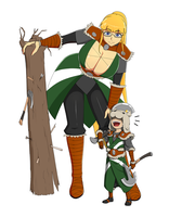 The little and the big Vikings! by tkckrys