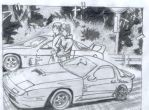 Initial D Takahashi Brothers by Toji89
