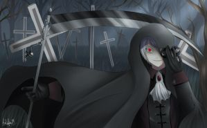 APH : Prussia _ Halloween Contest by Kalafin99