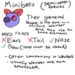 Minibet Guide (Semi-Open Species) by AquaPyrofan