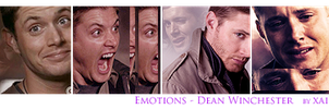 Emotions Dean Winchester by xaide89