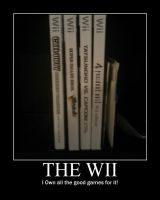 The Wii -demotivation- by Dragunov-EX