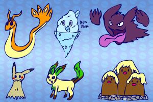 Drawing Pokemon From Memory by Dogtorwho