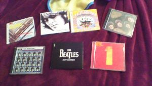 My awesome Beatles Cds I love! by vampire8462