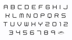 A State Of Trance title font replica by Trance-elite
