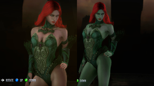 Injustice: Gods Among Us - Poison Ivy Replacer by CapLagRobin
