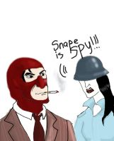 Snape is Spy by Lucius007