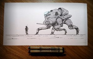 Sketchbook: On Patrol by rickystinger88