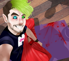 Antisepticeye by RejectedBoi